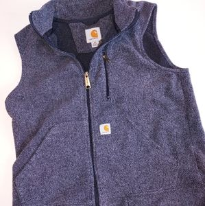 Carhartt Blue Fleece Vest M